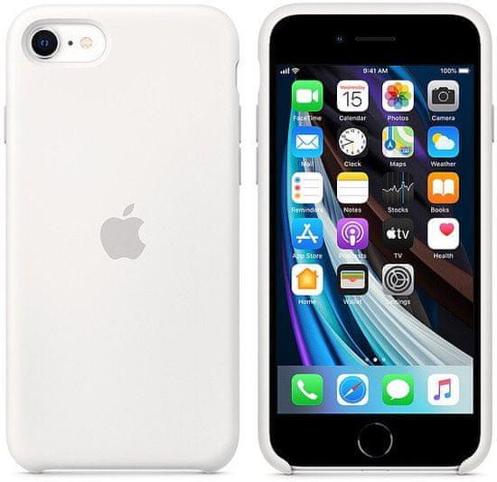 Apple etui iPhone SE 2020 Silicone Case White MXYJ2ZM/A