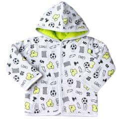Nini chlapčenský kabátik 56 sivá