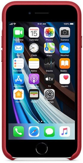 Apple iPhone SE 2020/7/8 Leather Case (PRODUCT)RED MXYL2ZM/A