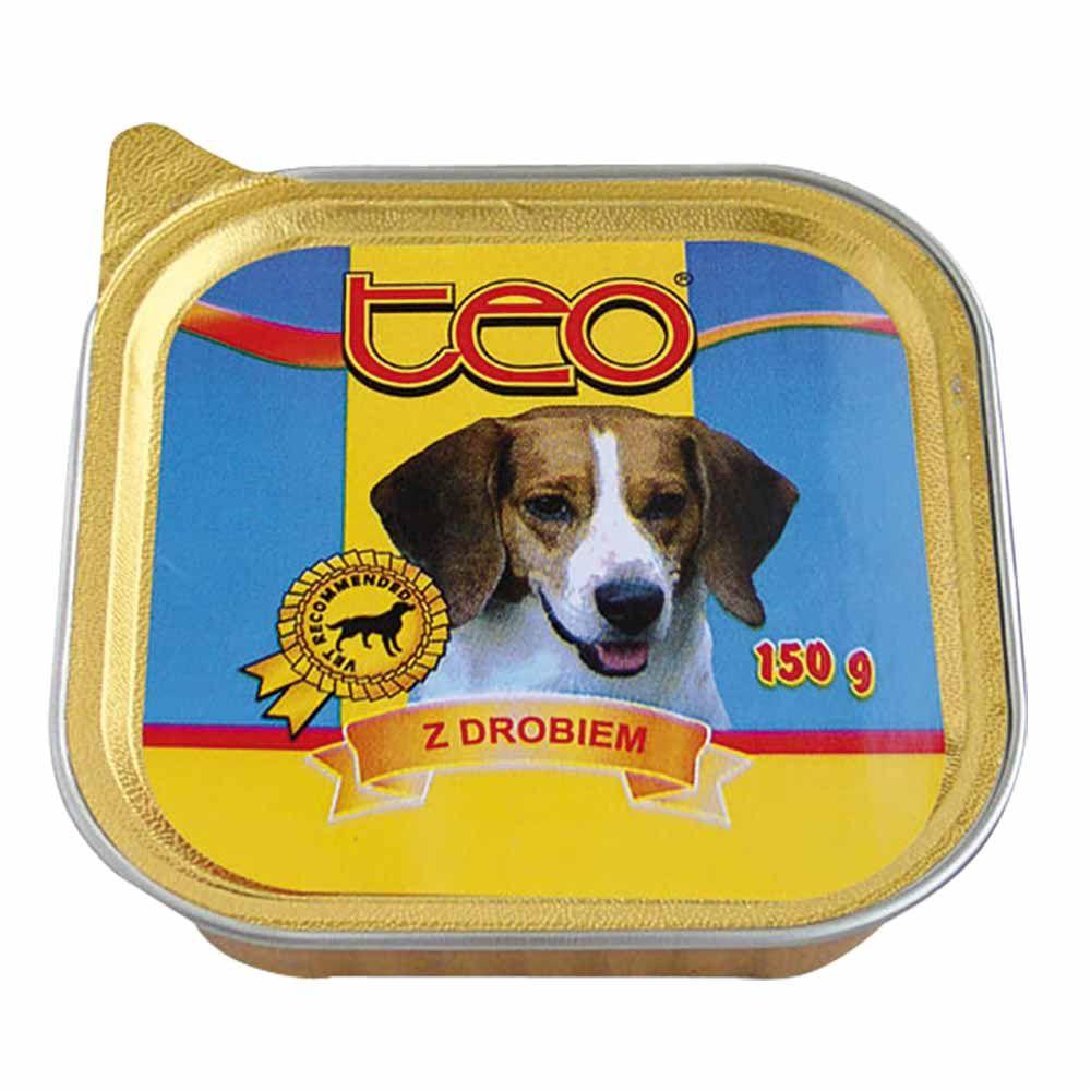 Dibaq TEO paštika pes drůbeží 9x150 g
