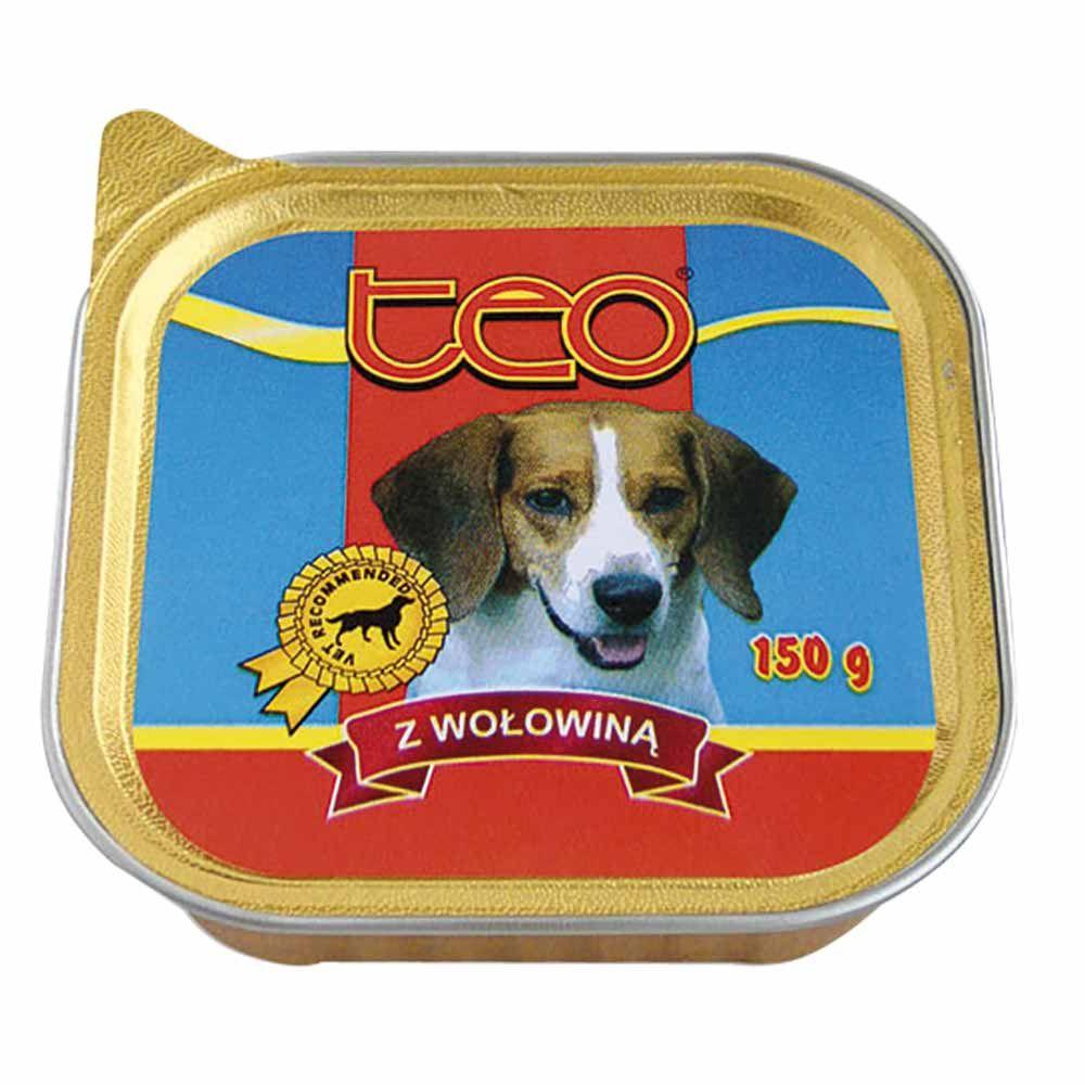 Dibaq TEO paštika pes hovězí 9x150 g