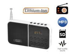 Trevi DR 740 SD prenosni digitalni radio, bel