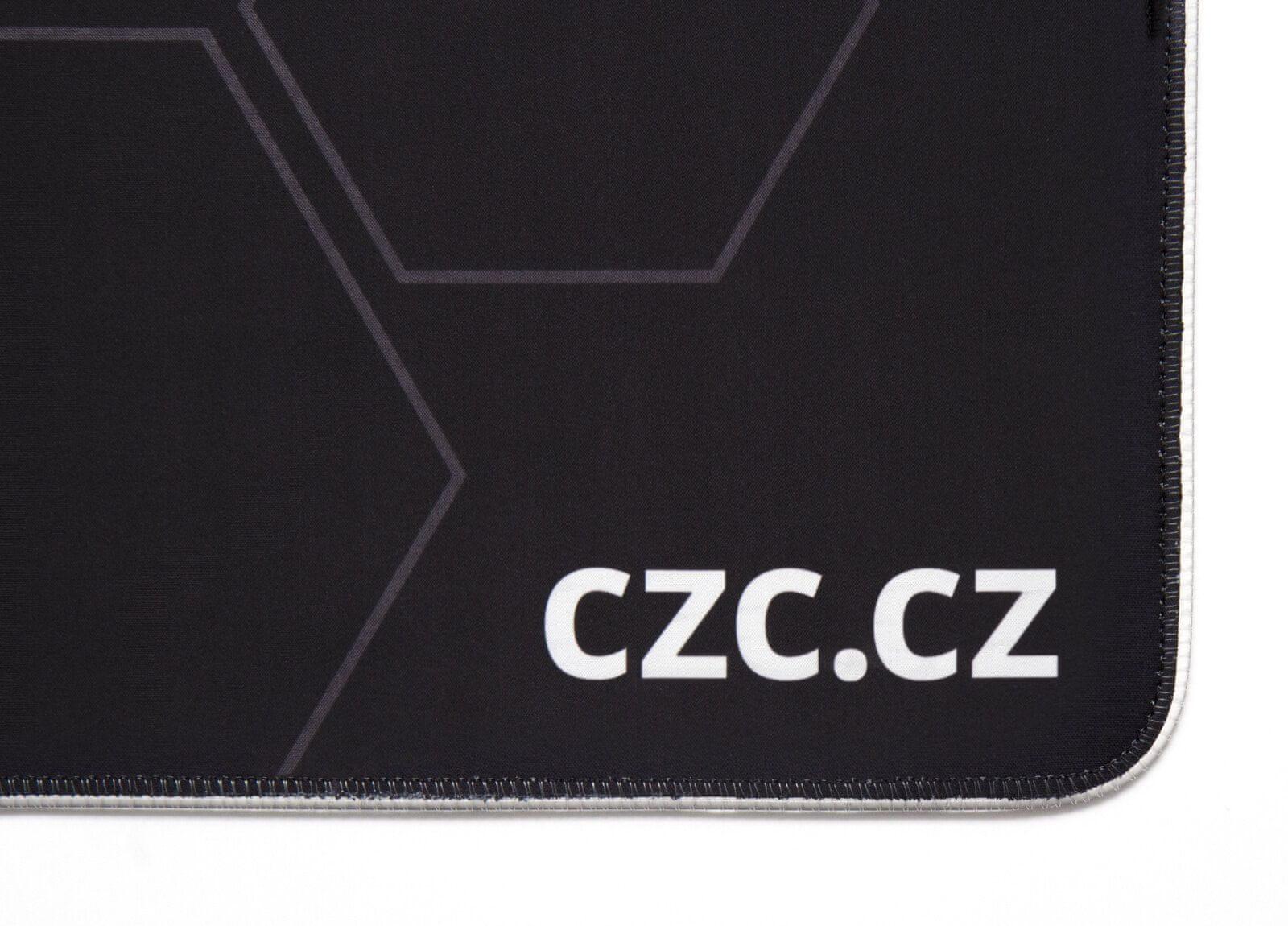 CZC Barricade RGB XL velká snímání pohybu myši příjemný textil