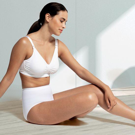 Carriwell Kojící podprsenka s Carri-Gel kosticemi bílá