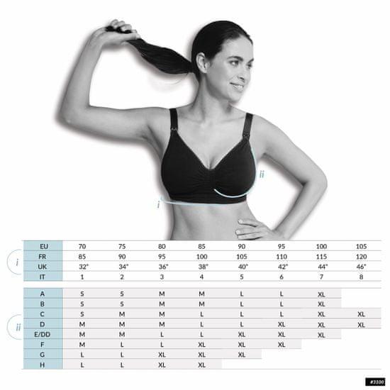 Carriwell Kojící podprsenka s Carri-Gel kosticemi tělová