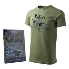 Tričko s německým bombardérem z druhé světové války DORNIER DO 17 - M