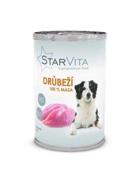Starvita konzerva drůbeží mleté 400 g