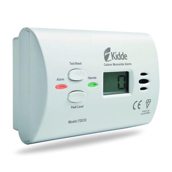 Kidde Kidde 7DCO detektor CO s alarmem (čidlo úniku plynu)