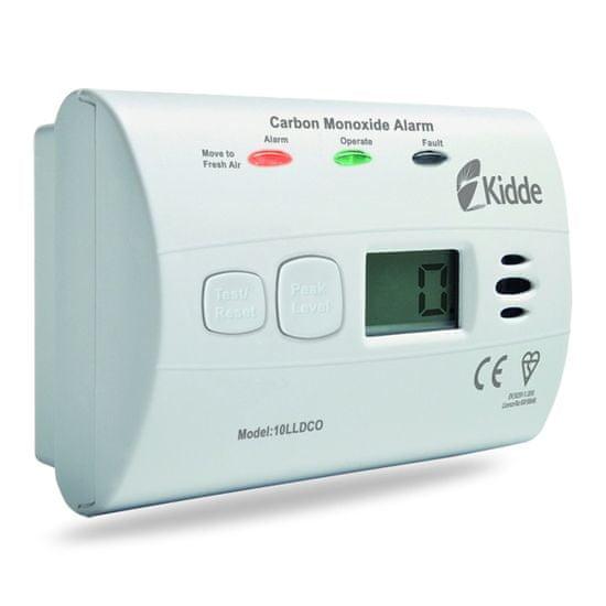 Kidde 10LLDCO Detektor CO odolný proti vlhkosti