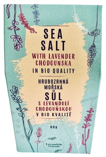 Levandulové údolí BIO hrubozrnná mořská sůl s Levandulí Chodouňskou