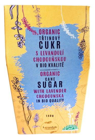 Levandulové údolí BIO Třtinový cukr s Levandulí Chodouňskou