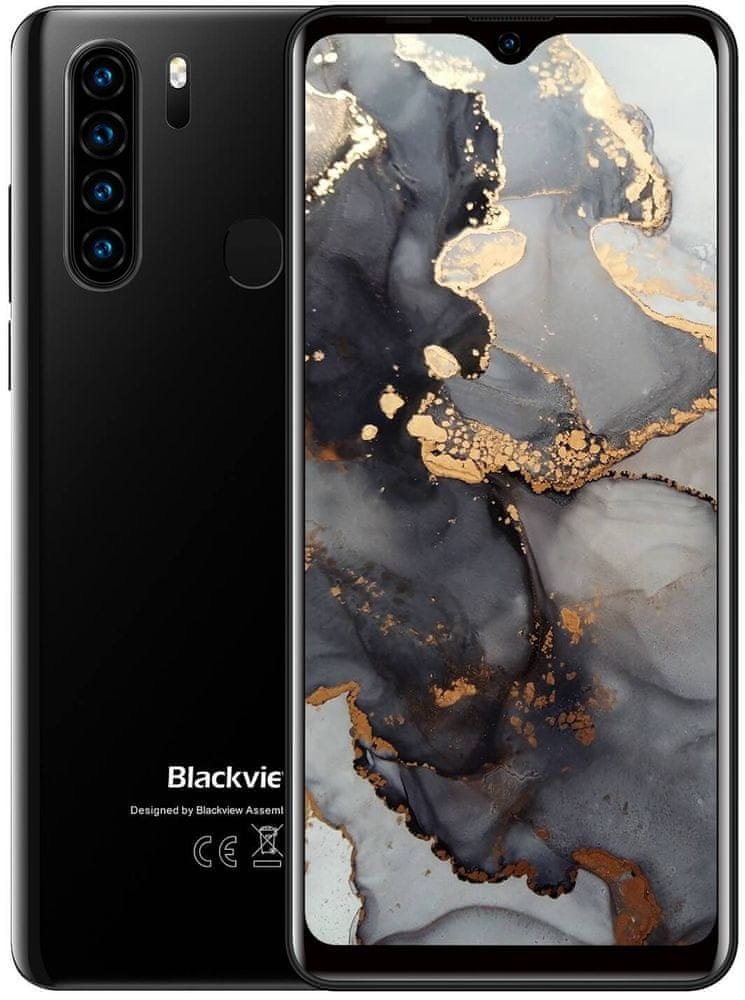 iGET Blackview GA80 Pro, 4GB/64GB, Black