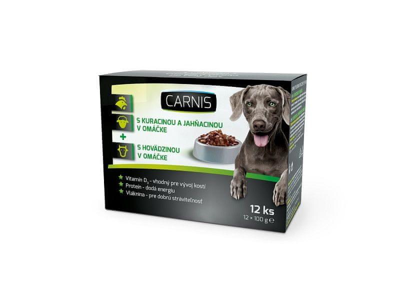 Carnis kapsičky pro psy 12x100 g