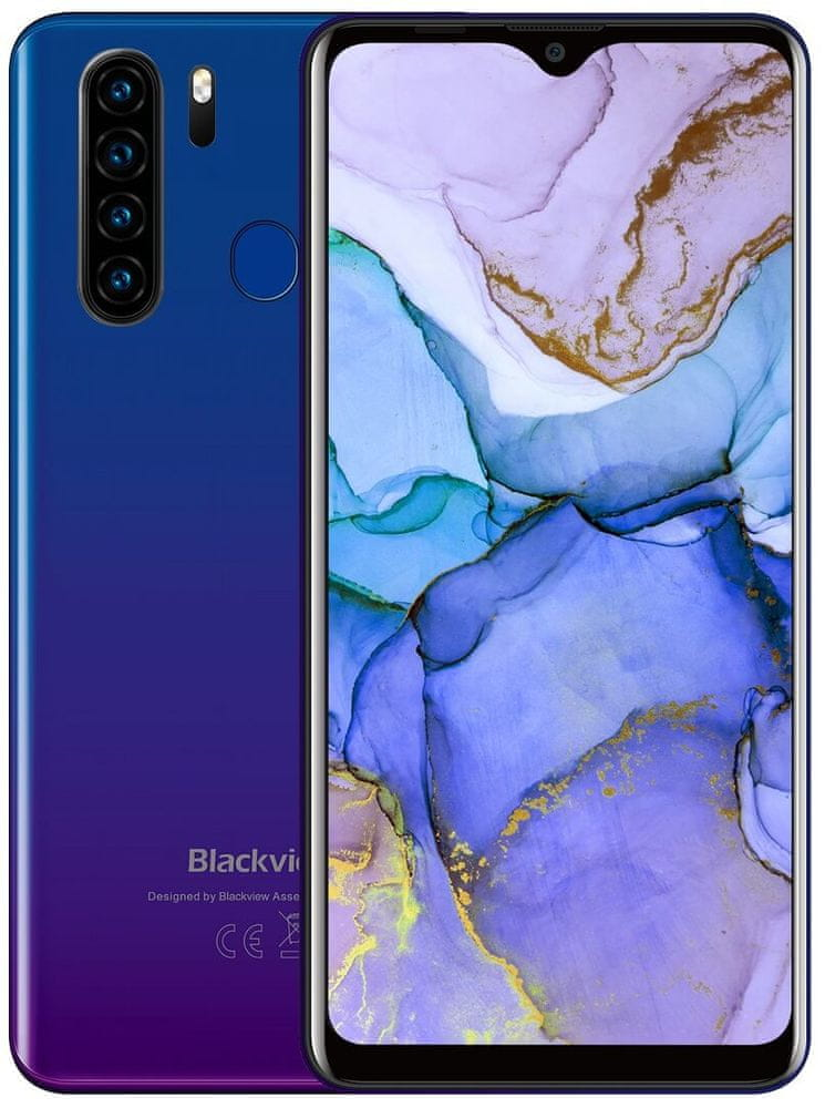 iGET Blackview GA80 Pro, 4GB/64GB, Blue
