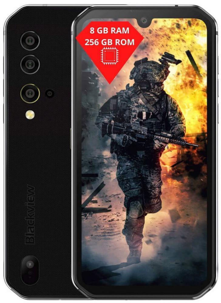 iGET Blackview GBV9900, 8GB/256GB, Silver