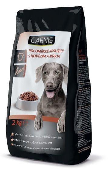 Carnis poloměkké granule pro psy 2 kg