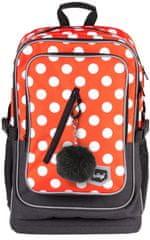 BAAGL Cubic školski ruksak, točkast