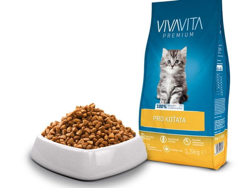 Vivavita pro koťata 1,5 kg