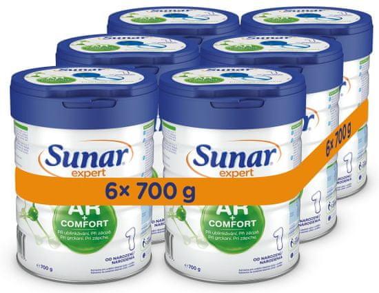 Sunar Expert AR + Comfort 1, 6x 700g
