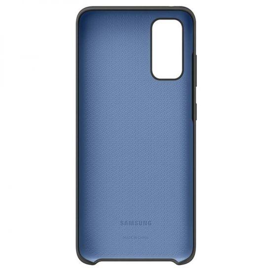 Samsung Galaxy S20 Plus ovitek, silikonski, črn