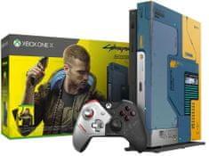 Microsoft Xbox One X 1 TB igralna konzola, Cyberpunk 2077 Limited Edition (FMP-00253)