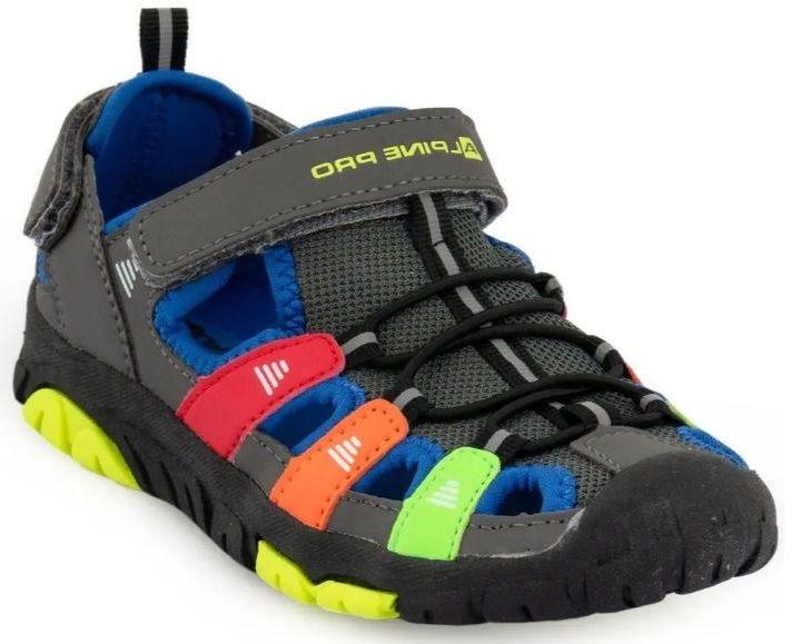 ALPINE PRO dětská obuv ERZIO KBTR240770 33 vícebarevná