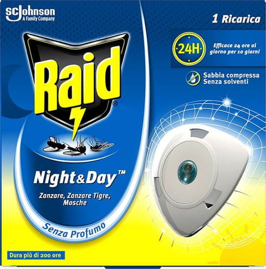 Raid enojno polnilo night&day 1/1