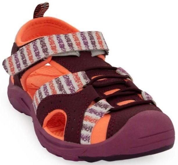 ALPINE PRO dívčí obuv BIELO KBTR237846G 32 oranžová