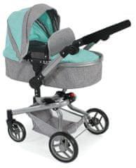 Bayer Chic otroški voziček MINI BUGGY 08, roza/svetlo siv