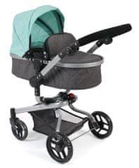 Bayer Chic otroški voziček MINI BUGGY 08, roza/temno siv