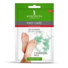 Kozmetika Afrodita Foot Care sol za kopel