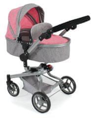 Bayer Chic otroški voziček YOLO, roza/siv