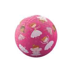 Crocodile Creek Lopta 18 cm - Baletky / Play Ball 18 cm Sweet Dreams