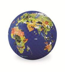 Crocodile Creek Míč 18 cm - Svět / Play Ball 18 cm World