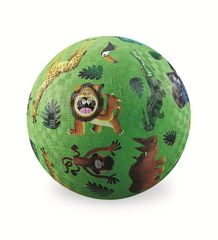 Crocodile Creek Míč 13 cm - Divoká zvířata / Play Ball 13 cm Very Wild Animals