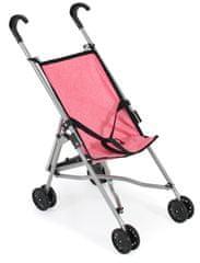 Bayer Chic otroški voziček MINI BUGGY 08, roza/siv