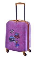 Travelite Plastový kufr Travelite Statečná autíčka 4W S