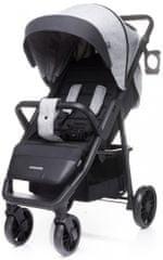 4Baby wózek dziecięcy Sport Moody Light Grey 2020