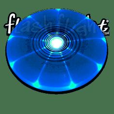 Frisbee Flashflight - modrá