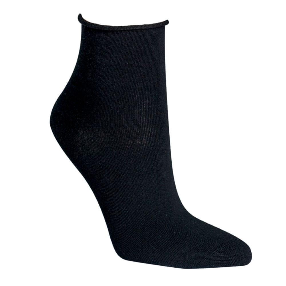 RS Dámské zdravotní letní kotníkové bavlněné ponožky bez gumiček 3Pack - 39-42