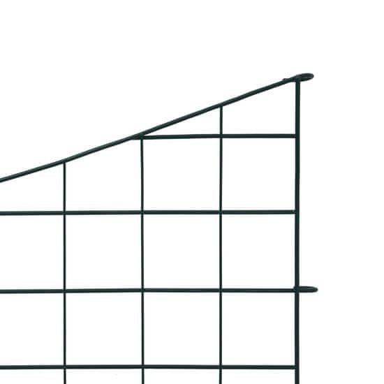 shumee Plot k jazierku s oblúkmi 77,5x64 cm, zelený