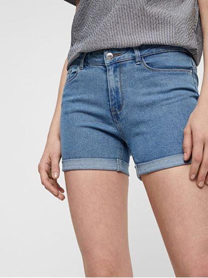 Vero Moda Női rövidnadrág Short Hot Seven Dnm-es hajtás Short Noos Light Blue Mix-el