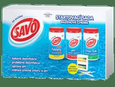 Savo Startovací sada bazénové chemie