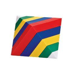 Kebo Toys Vrstviaca pyramída - Wedge-it - set 2 kusov (30 ks) / Wedge-it - 2 colors in 1 (30 pc)