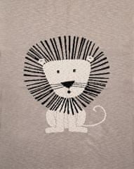 Petite&Mars Deka Harmony Brave Lion 100% bavlna 80×100 cm