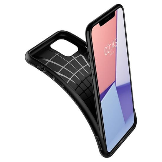 Spigen Liquid Air silikonski ovitek za iPhone 11, črna