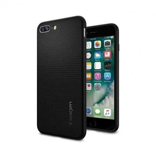 Spigen szilikon tok Liquid Air iPhone 7/8 Plus, fekete