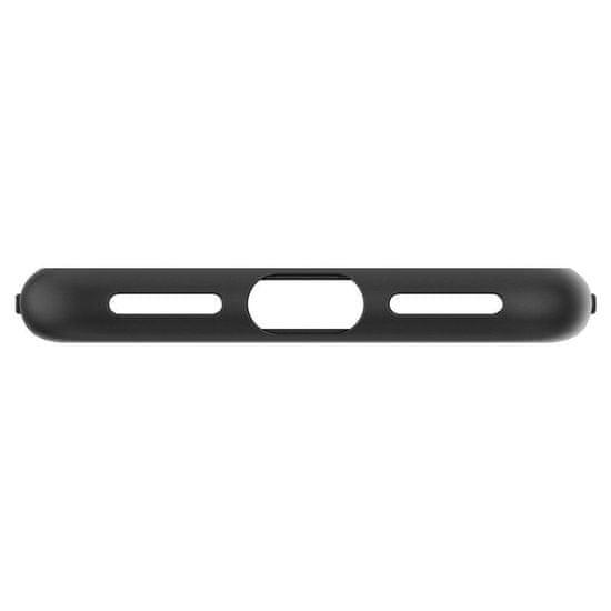 Spigen Liquid Crystal silikonski ovitek za iPhone 7/8/SE 2020, črna/mat