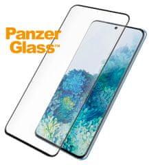 PanzerGlass Premium zaščitno steklo za Samsung Galaxy S20 Plus, črno (7229)