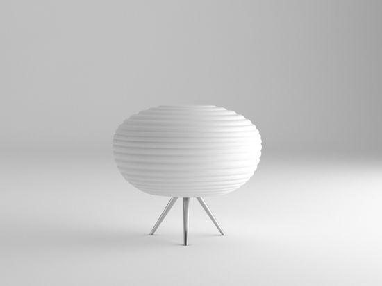 Immax NEO COCONO stolní lampa bílé sklo 34x34cm včetně Smart zdroje E27 RGBW Zigbee 3.0
